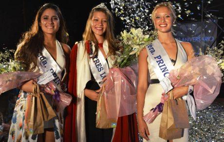 Tres Lomas Reina y princesas del distrito