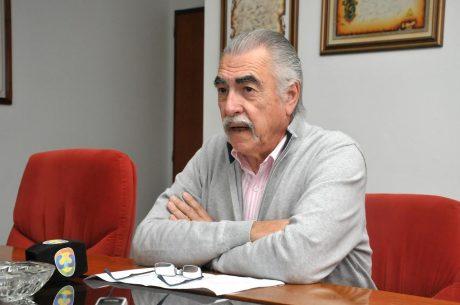 El presidente de Vialidad Provincial, Jorge Etchichury