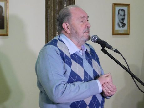 Verna, Carlos gobernador de La Pampa en Embajador Martini
