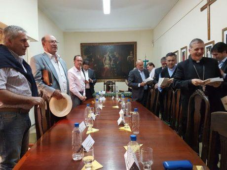Obispo de 9 de Julio con intendentes