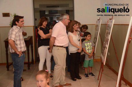 Salliqueló muestra en recuerdo de Osvaldo Balbín