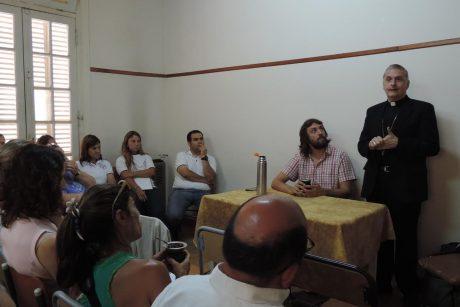 9 de Julio Reunión en la Diócesis