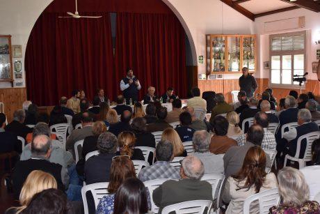 Sarquís en Bolívar con productores