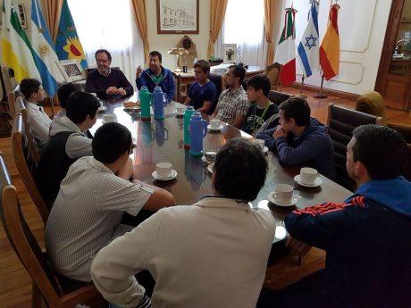 Carlos Casares Reconocimiento a participantes Juegos Bonaerenses