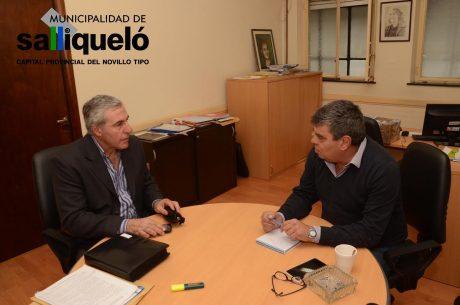 Salliqueló Hernández con Cendoya