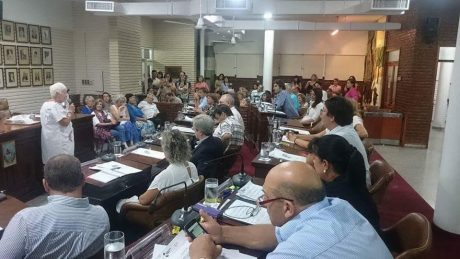 Concejo Deliberante primera sesión especial