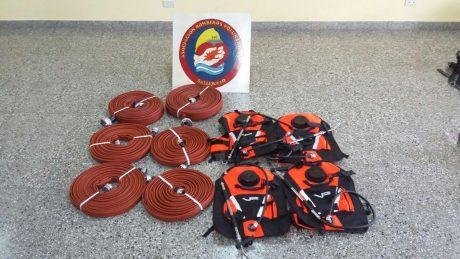 Salliqueló material para bomberos voluntarios