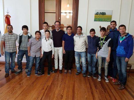 Carlos Casares reconocimiento Juegos Bonaerenses