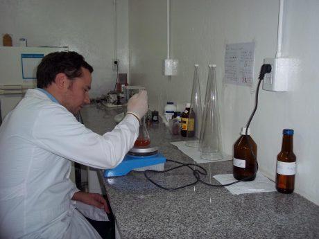 Trenque Lauquen UTN Laboratorio de Agua