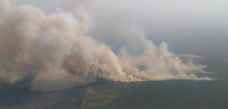La Pampa Incendio