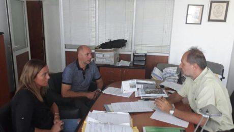 Valeria Arata, Javier Mignaquy y Marcelo Rastelli