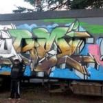 Vagones - Arte Urbano