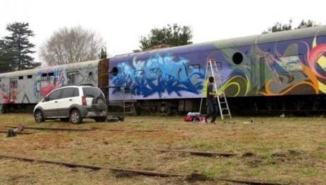 Junín - Vagones Arte Urbano