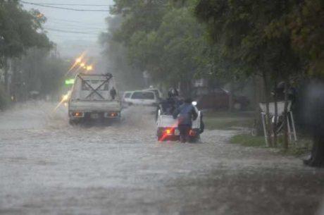 Santa Rosa - Inundación - Foto: diario La Arena